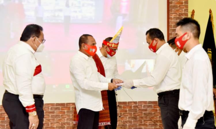 14.660 Napi di Sumut Terima SK Remisi dari Menkumham, Gubernur Serahkan SK untuk Lapas dan Rutan