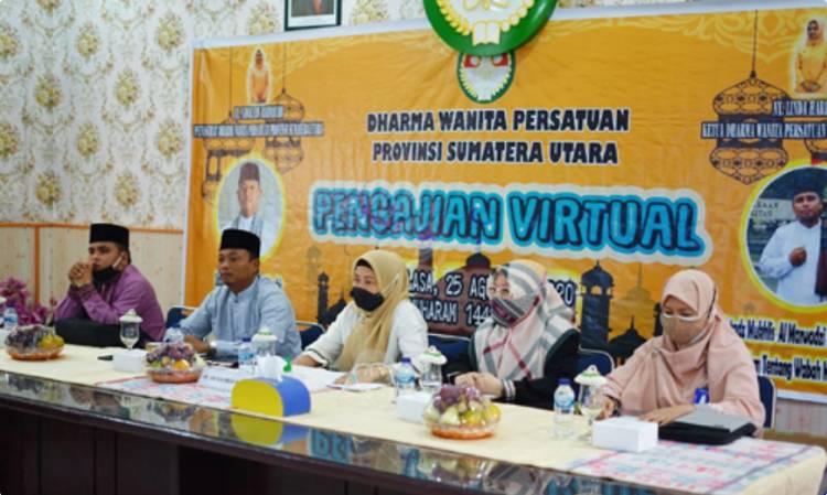 DWP Sumut Ngaji Virtual, Bahas Pandangan Islam Hadapi Pandemi Covid-19