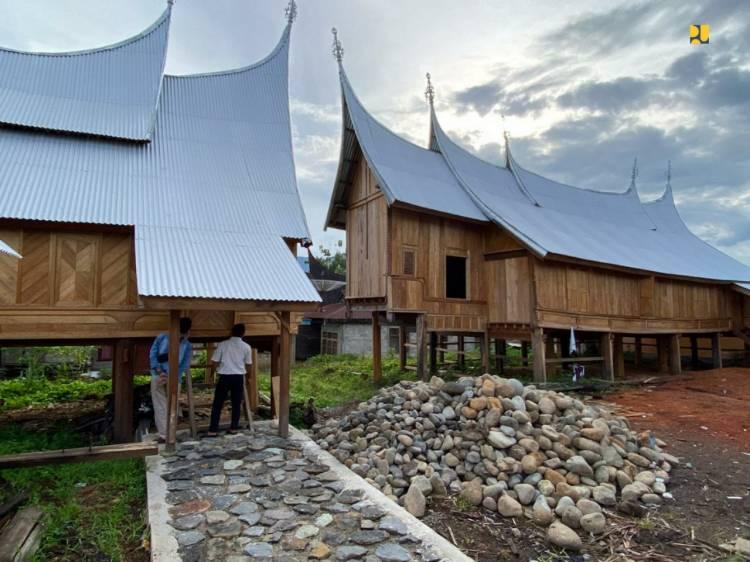 Pemerintah Tata Kawasan Saribu Rumah Gadang di Solok Selatan Sebagai Cagar Budaya