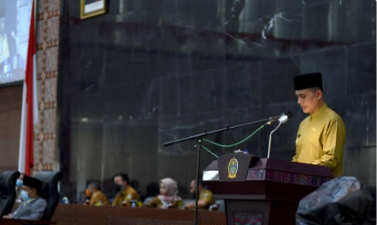 Pemprov Sumut Sampaikan Ranperda BUMD, Dorong Pembangunan dan Tingkatkan PAD