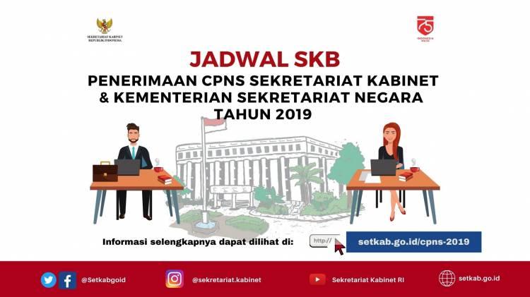 Peserta CPNS Setkab dan Kemensetneg Wajib Ikuti Tes SKB Secara Daring