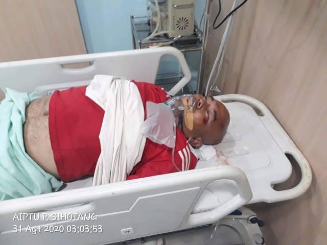 Seorang Pria Tua Terkapar Ditabrak di Jalan AH Nasution Medan, Polisi Sebut Korban Lakalantas