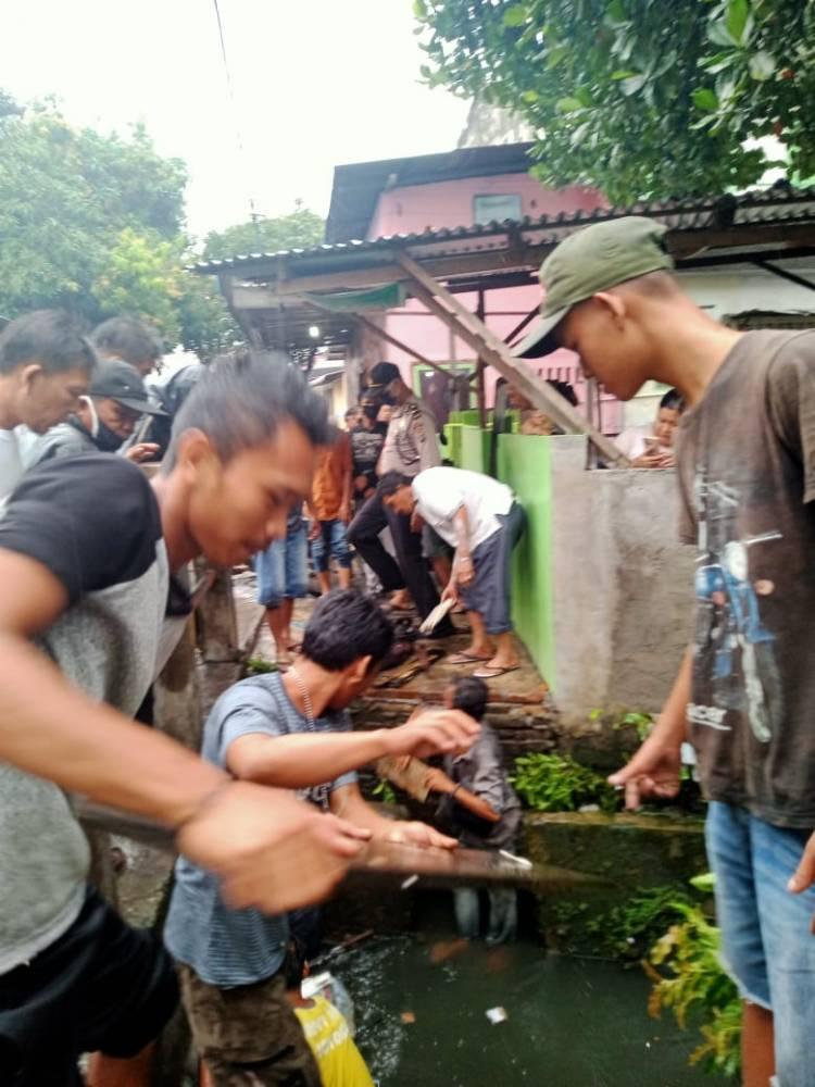 Belum Ditemukan, Penumpang Betor Hilang Terseret Air Hujan di Jalan Selam V Medan