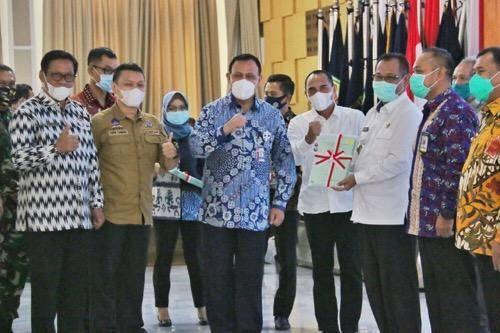 Plt Wali Kota Medan Akhyar Nasution Hadiri Rakor Pencegahan Korupsi Terintegrasi Pemprovsu