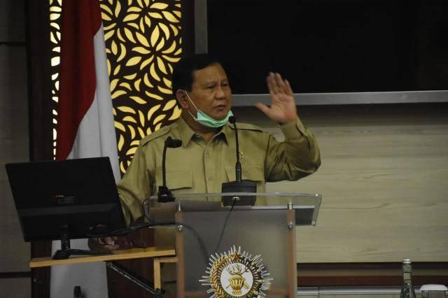 Prabowo Subianto Kunjungi Seskoad, Berikan Wejangan untuk Pasis Dikreg LIX Seskoad TA 2020