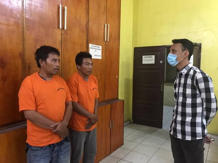 Modus Biaya Jaga Keamanan, Unit Jatanras Polrestabes Medan Sergap 2 Orang Komplotan Pemerasan di Jalan Kongsi