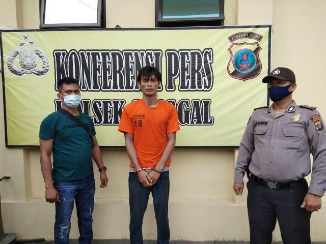 Edarkan Sabu di Kelambir Lima, Pria Asal Labuhanbatu Utara Ditangkap Tekab Polsek Sunggal