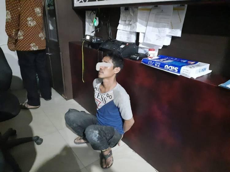 Cabuli Anak Tiri, Pria Tanjung Morawa Ditangkap Satreskrim Polresta Deli Serdang