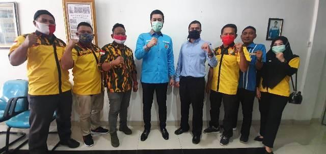 El Adrianshah Ajak BMK 1957 Kota Medan Bantu Masyarakat di Tengah Pandemi Covid-19