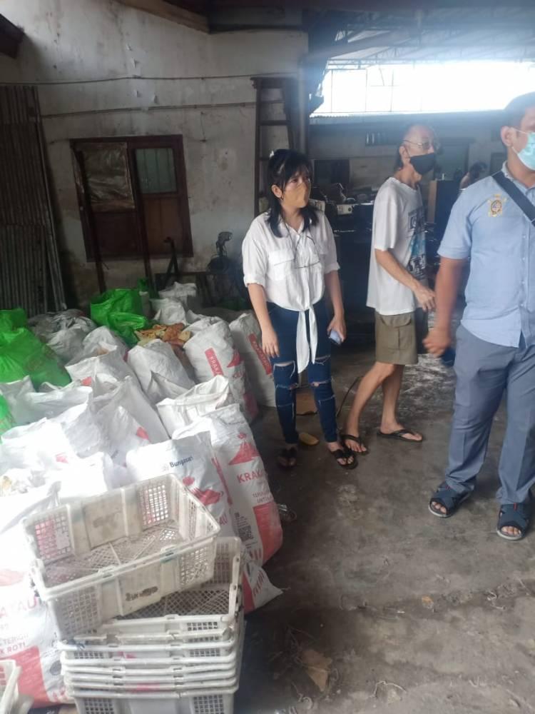 Diduga Tak Penuhi Standar Kesehatan dan Pangan, Polsek Medan Timur Gerebek Pabrik Roti di Pulo Brayan