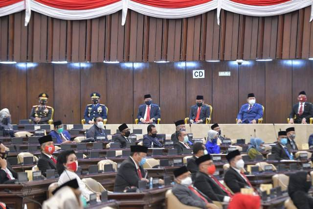 Panglima TNI Hadiri Sidang Tahunan MPR-DPR-DPD RI Tahun 2020