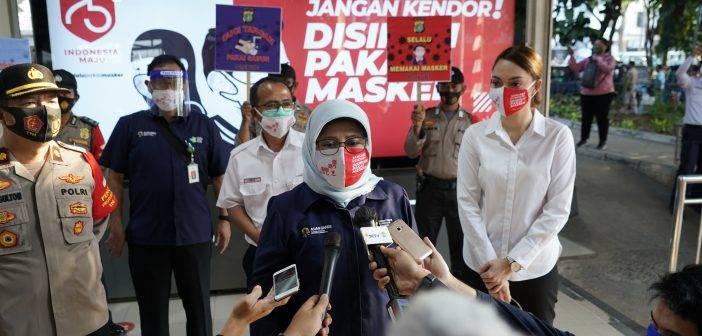 Hari Ini Kemenkes Bagikan 1 Juta Pcs Masker di Jabodetabek, Menyusul 25 Juta Pcs di 8 Provinsi Prioritas Termasuk Sumut