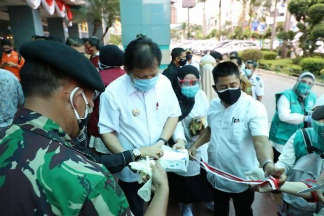 IDI Sumut Gandeng Pemprovsu dan Pemko Medan Galakkan Gerakan Sejuta Masker