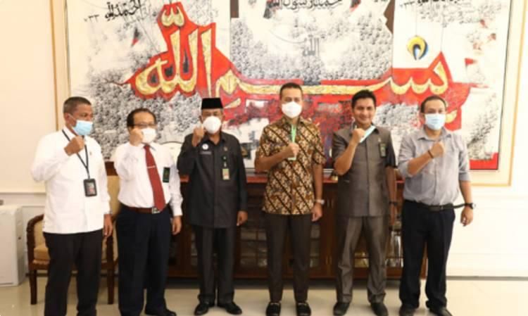 Wagub Sumut Terima Silaturahmi dari Pengadilan Tinggi Agama Sumut di Rumah Dinas