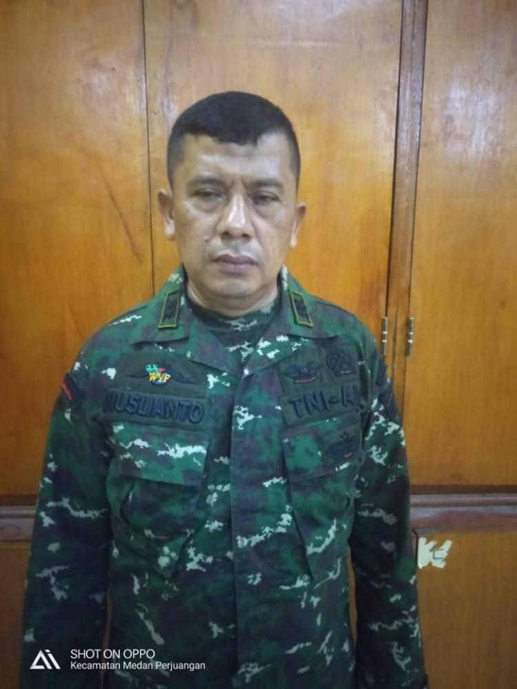 Seorang Anggota TNI Gadungan Ditangkap Petugas Unit Pidum Polrestabes Medan