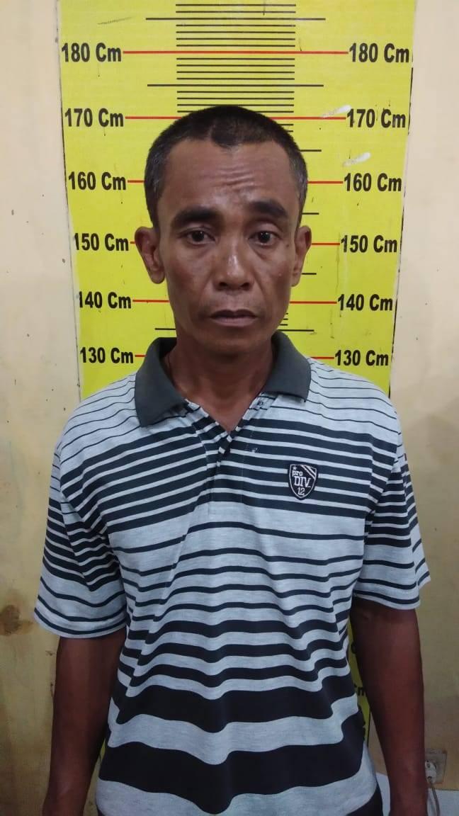 Polsek Delitua Tangkap Seorang Pelaku Pencurian Bahan Bangunan Rumah di Johor
