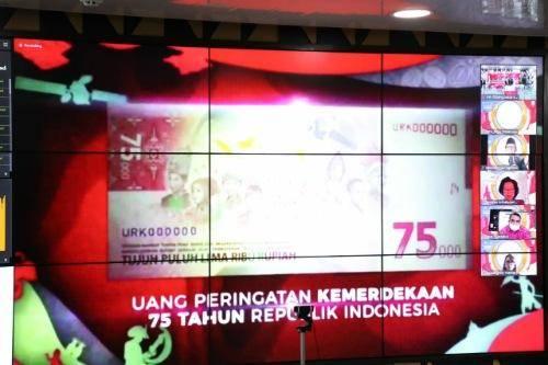 Uang Baru Edisi Khusus HUT ke-75 RI Resmi Diluncurkan