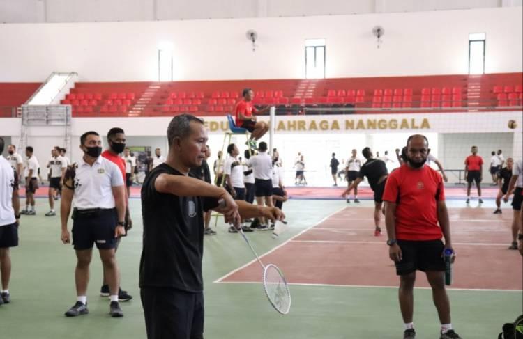 Dankoopssus TNI Kunjungi Markas Kopassus