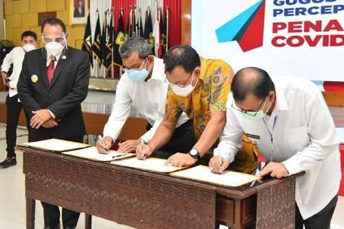 Pemko Medan Teken MoU Penanganan Covid-19 di Wilayah Mebidang, Berlaku Mulai Hari Ini