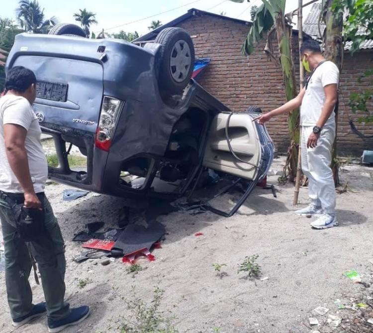 Mobil BNN Kabupaten Deli Serdang Dirusak Warga Saat Akan Tangkap DPO Narkoba di Pantai Labu