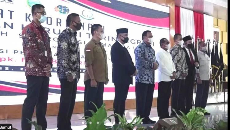 Ketua KPK RI Firli Bahuri Hadiri Rakor Pemberantasan Korupsi Terintegrasi Pemerintah Daerah di Sumut