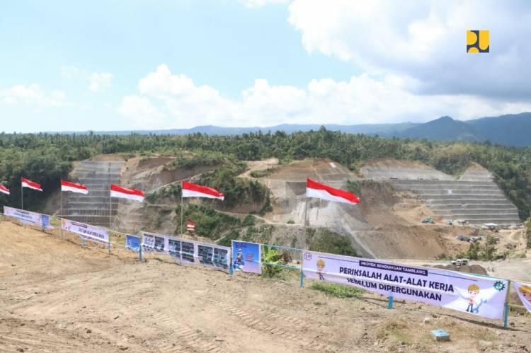 Ditargetkan Selesai 2022, Pemerintah Mulai Bangun Bendungan Tamblang di Kabupaten Bulelang