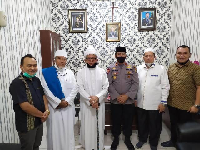 Kapolsek Medan Helvetia Terima Kunjungan Silaturahmi dari Tokoh Ulama Kota Medan