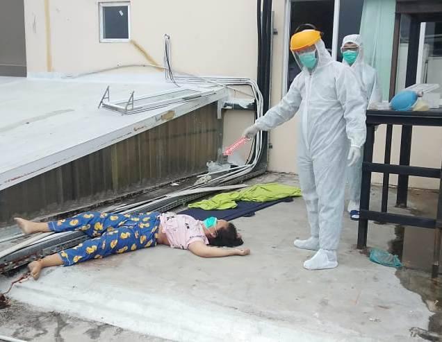 Pasien Isolasi Covid-19 Bunuh Diri di Rumah Sakit Royal Prima Medan, Maria Lompat dari Lantai 10