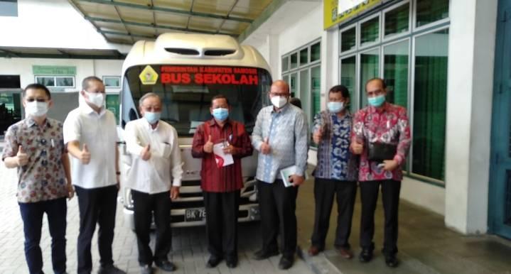 Bupati Samosir Paparkan Pariwisata Samosir di Kampus STBA PIA Medan