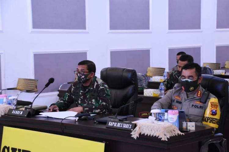 TNI-Polri Surabaya Bahas Penerapan Inpres 06 Tahun 2020