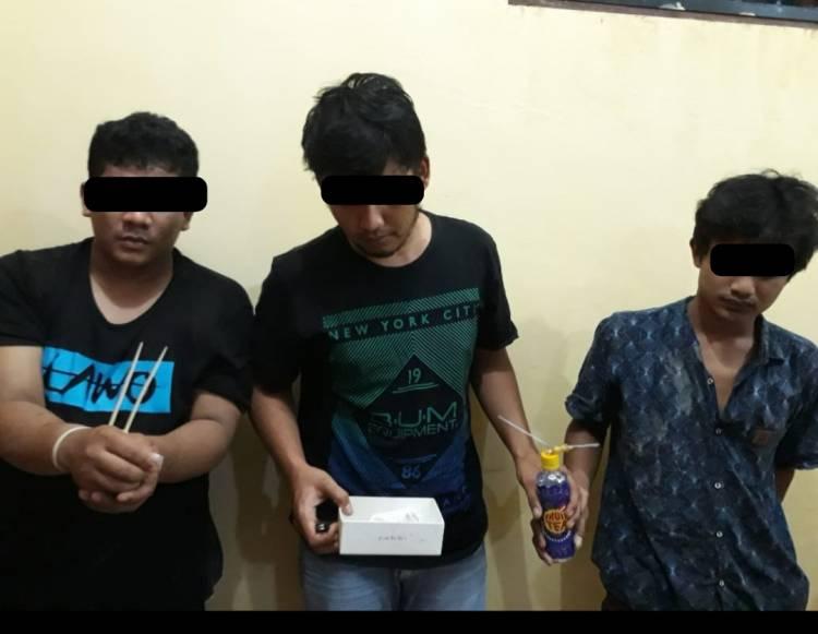 Sedang Pesta Narkoba di Dalam Rumah, 3 Pemuda Digerebek Tim Opsnal Polsek Lubuk Pakam