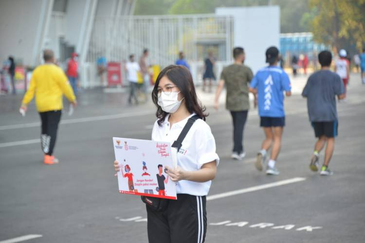Pulihkan Kesehatan dan Ekonomi, Pemerintah Gelar Kampanye Gunakan Masker