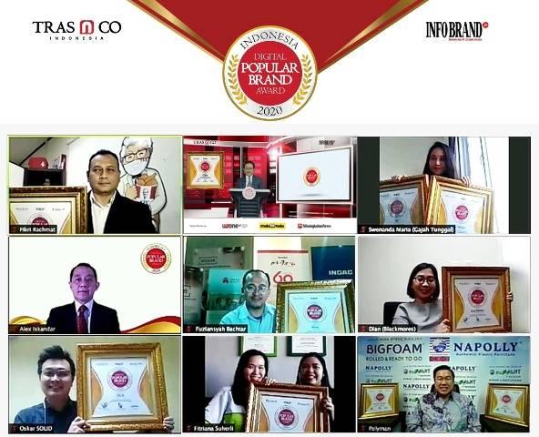 Indonesia Digital Popular Brand Award 2020 Kembali Paparkan Merek-merek Jawaranya di Era New Normal, Cek Brand Favoritmu di Sini
