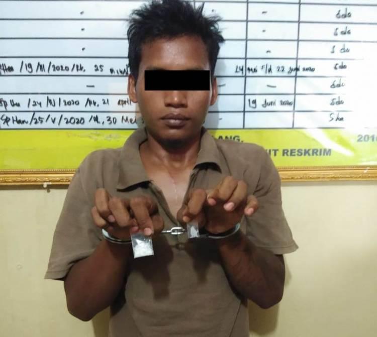 Polsek Galang Tangkap Pengedar Narkoba di Jalan Melati VI