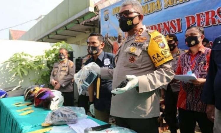 Ditreskrimum Polda Sumut Tangkap Lima Pria Sindikat Perampok Nasabah Bank Lintas Provinsi, Satu Pelaku Ditembak Mati