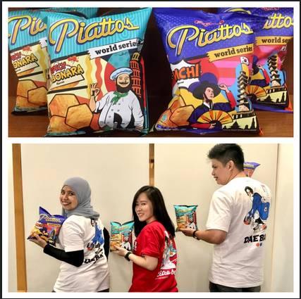 Edisi Terbatas, Piattos World Series Kini Hadir dengan Rasa Kimchi dan Spicy Carbonara