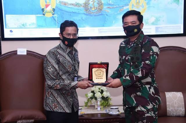 Bahas Perumahan untuk Prajurit TNI, Dirut BTN Silaturahmi dengan Panglima TNI