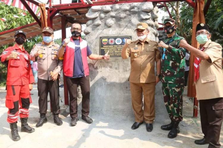 Jembatan Merdeka Penghubung Kabupaten Deli Serdang-Sergai Resmi Digunakan di Hari Kemerdekaan RI