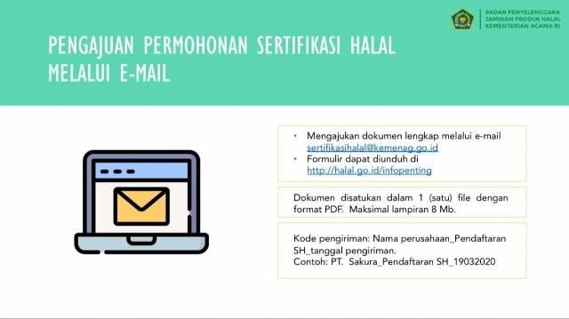 Sertifikasi Halal untuk UMK Kuliner, Ini Syarat dari BPJPH
