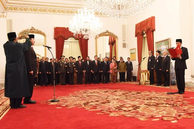 Dilantik Presiden, Budi Gunawan Resmi Jadi Kepala BIN