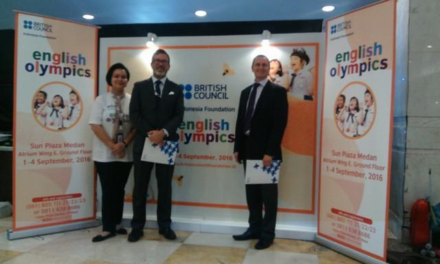 British Council Indonesia Gelar Olimpiade Berbahasa Inggris di Sun Plaza Medan