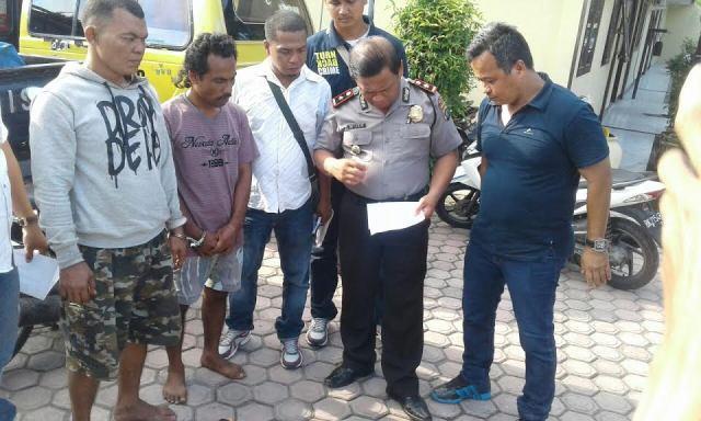 Polsek Binjai Utara Ringkus Komplotan Pencuri Mobil