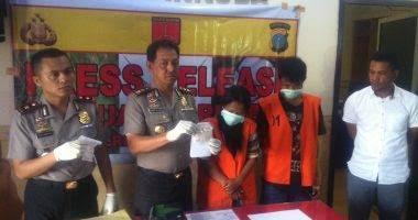 Jadi Kurir Sabu, Fitri Ditangkap Polres Deli Serdang