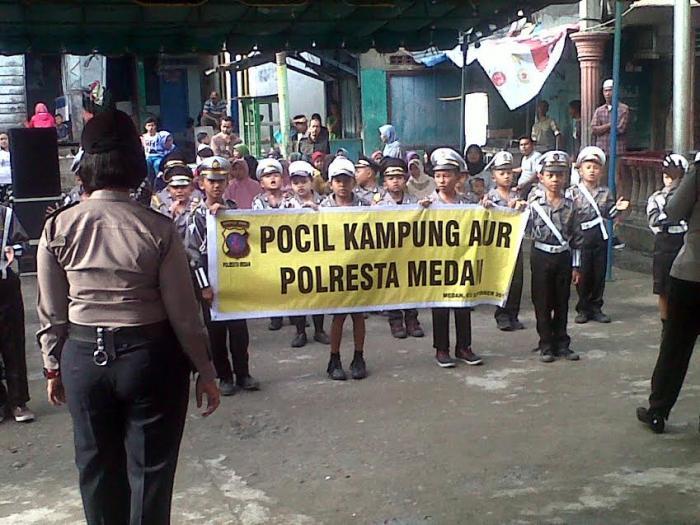 Rayakan HUT Polwan, Pocil Kampung Aur Disambangi Ibu Kapoldasu dan Rombongan Bhayangkari