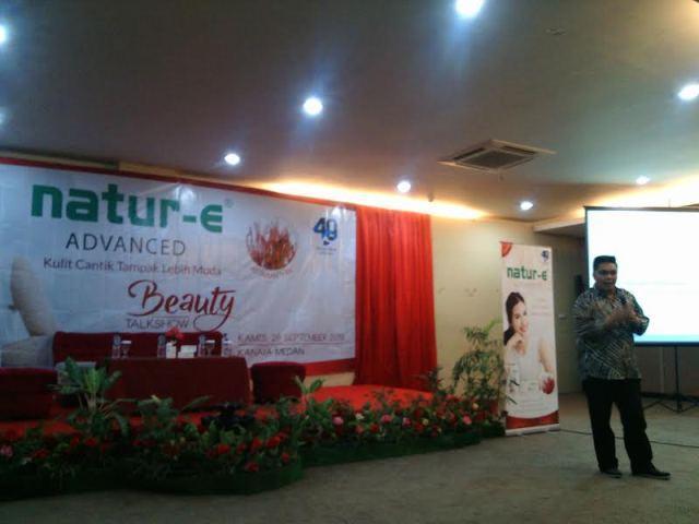 Beauty Talkshow Natur-e di Medan, Ajak Perempuan Lebih Peduli Kesehatan Kulit