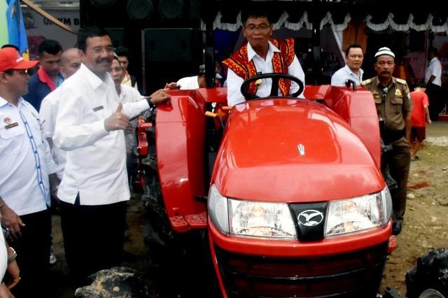 Dorong Produksi Pangan di Nias, Pemprovsu Kucurkan Rp 7,3 Miliar