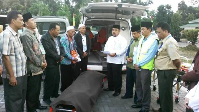 Dua Jam Jelang Mendarat di Bandara Kualanamu, Jemaah Asal Paluta Hembuskan Nafas Terakhir di Pesawat