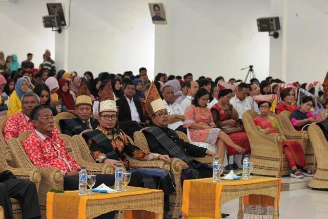 Menaker RI Buka Dies Natalis dan Launching Bursa Kerja Khusus di Universitas Simalungun