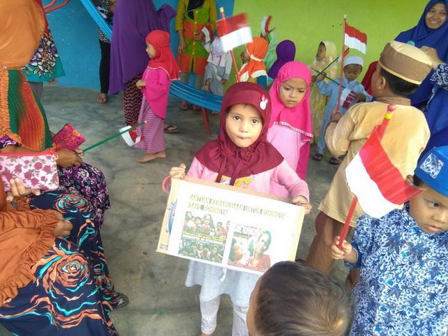 Murid TK Galang Dana untuk Rohingya