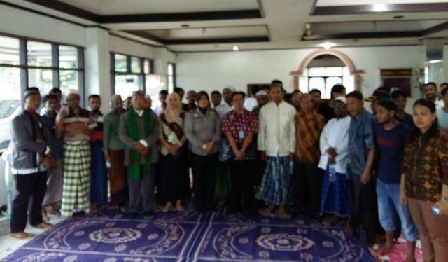 Puluhan Pengungsi Rohingya Ikuti Ceramah Agama di Hotel Pelangi Medan